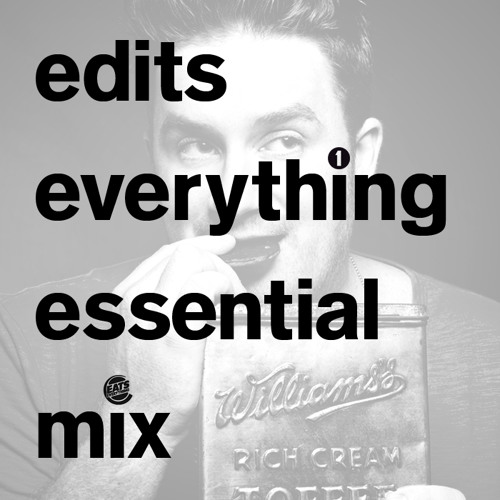 Edits Everything Essential Mix (15/12/2012) By