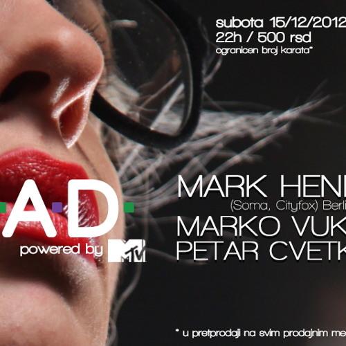 Marko Vukovic - B.A.D. (Live@Krug 15-12-2012)