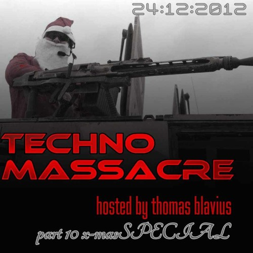 T3CHNO MASSACRE PODCAST 10 x-mas Massacre with Krosshead & Paulo AV