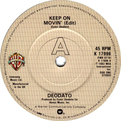 Keep on Movin' (Dave Allison Edit)   *Wav File*