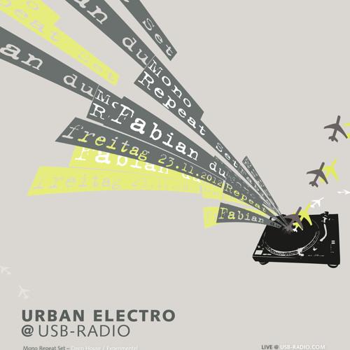 Fabian Du - Live @ Urban Electro - 23.11.2012