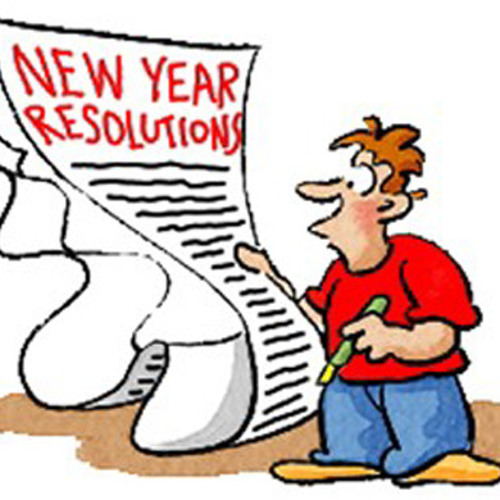 New years resolutions – why bother?