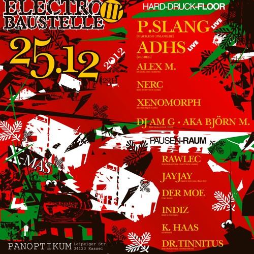 Dj Am G. @ EB3 pres. P.slang 25.12.2012