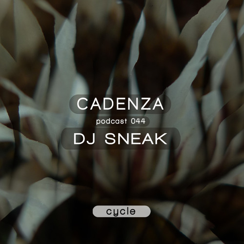 Cadenza Podcast | 044 - DJ Sneak (Cycle)