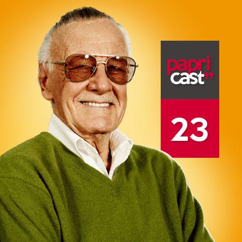 Papricast 023 /// Stan Lee e seus Personagens Maravilhosos
