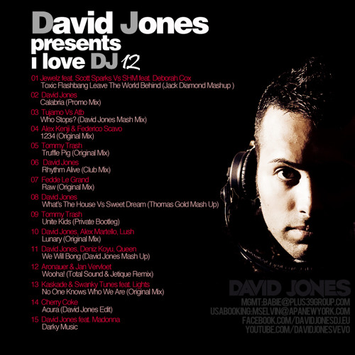David Jones - I LOVE D.J. 12/12