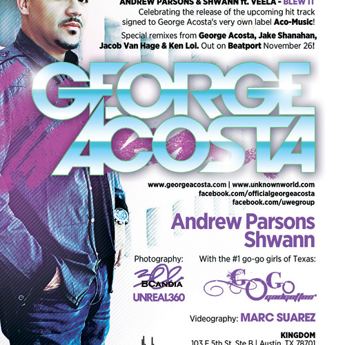 Andrew Parsons Opening for George Acosta at Kingdom 12-01-2012