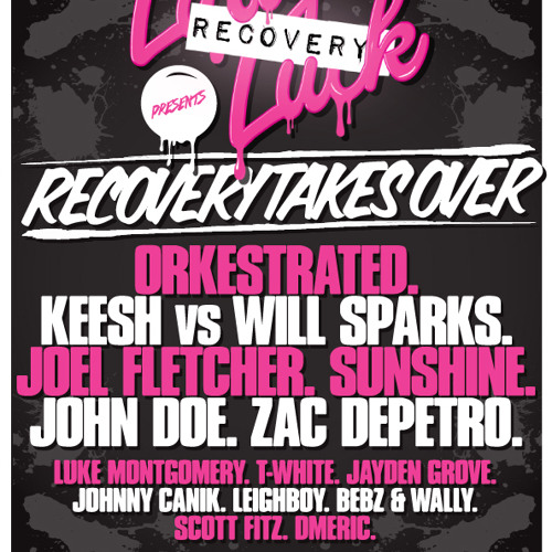 RECOVERY TAKES OVER LADY LUCK! Promo Mix 28/12 Mixed by keesh