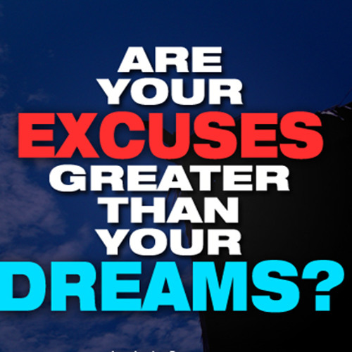 Banish Your Excuses!! - Daily Word December 28, 2012