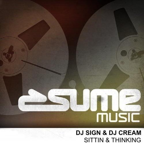 DJ Sign & DJ Cream - Sittin and Thinking (COSMIC FUNK Remix) preview