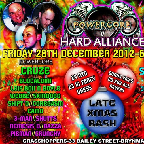 Cruze & MC 3Man Live @Powercore 28.12.2012 (320kbps Download)