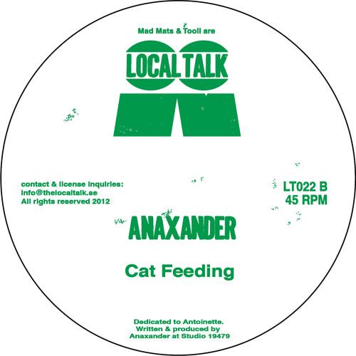 Anaxander - Cat Feeding (LT022, Side B1)