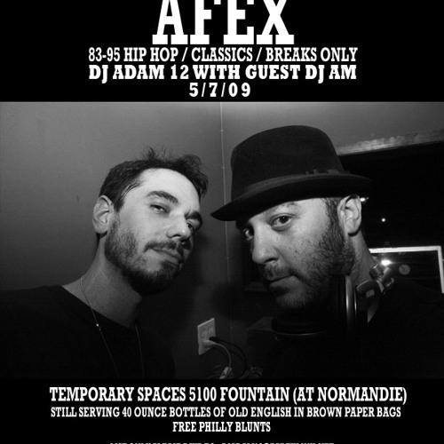 DJ AM vs. DJ ADAM 12 LIVE AT AFEX - VOLUME 2
