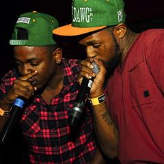 Kendrick Lamar & Schoolboy Q - 6 Foot 7 Foot (Freestyle)