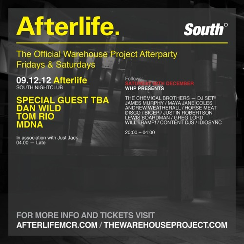 MDNA - Live From WHP Afterlife Dec 12
