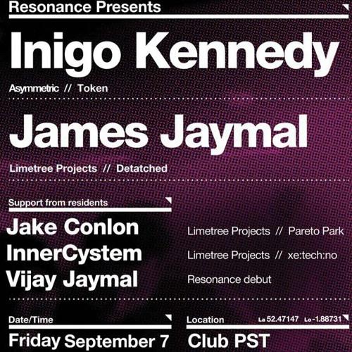 Inigo Kennedy @ Resonance 1st Birthday 7.9.2012