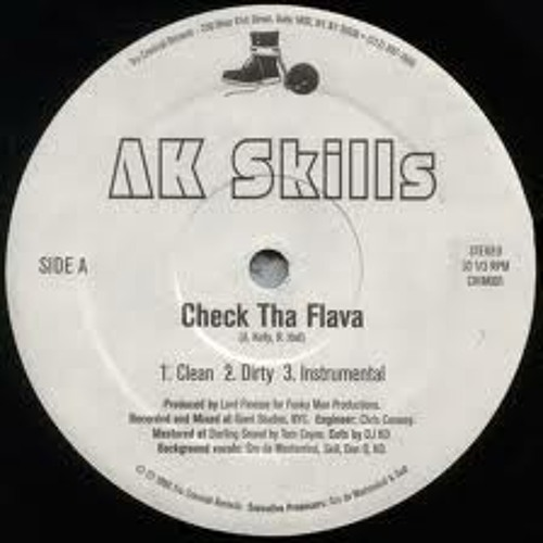 "Thursday's Tribute To The 90's AK Skills ""Check Tha Flava"" Hip Hop Remix"