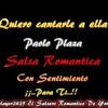 Paolo Plaza - Quiero Cantarle A Ella Portada del disco
