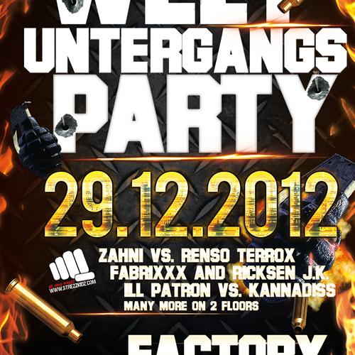 IRon pAdRino vs. reLiciOus´ @Factory MD 29.12.12
