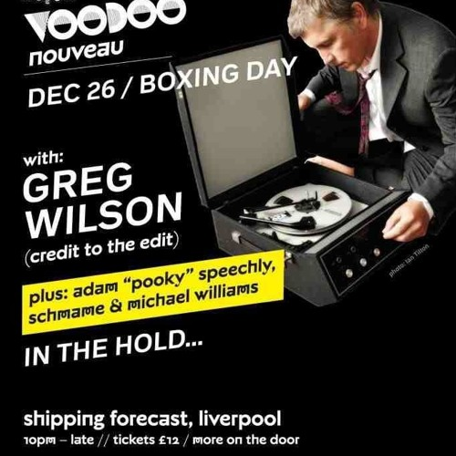 POOKY - WARM UP SET FOR GREG WILSON @ SHIPPING FORECAST 26/12/2012