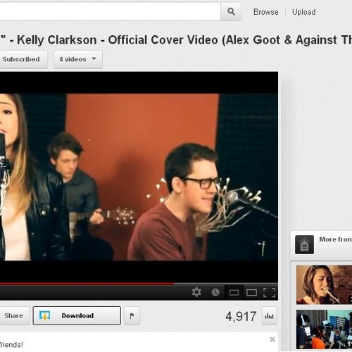 Catch My Breath cover (Alex Goot & Against The Current)