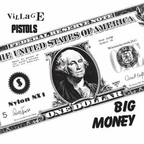 Village Pistols - Big Money (HAW-028) 1981 punk