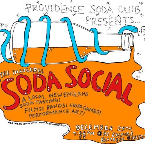 Providence Soda Club- Live on 99.0 WBOB - 12/29/12