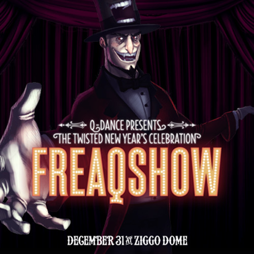 Freaqshow hardstyle top 10 of 2012 - The Freaqy Mix