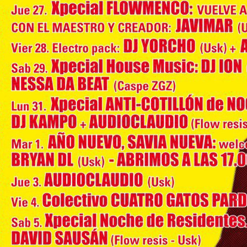Xpecial House Night - Christmas 2012 Edition :: Flow Microclub