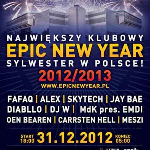 Jay Bae Live @ Epic New Year Bydgoszcz 2012-12-31