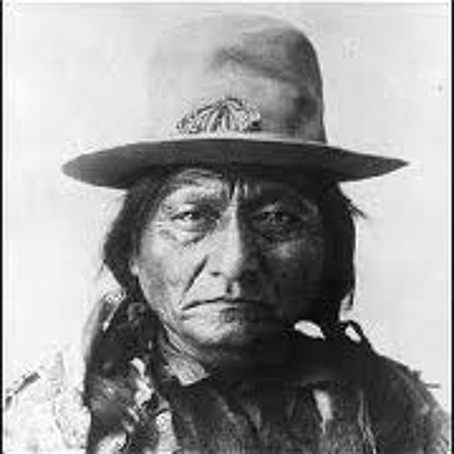 Sitting Bull is on the Moon.