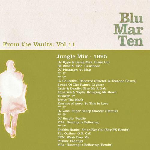 Blu Mar Ten - From the Vaults Vol 11 - Jungle Mix - 1995