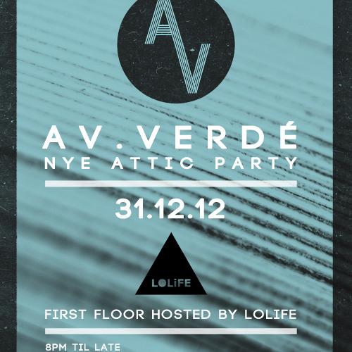 Jack Brown @ Av.Verdé & LOLiFE // NYE // The Attic