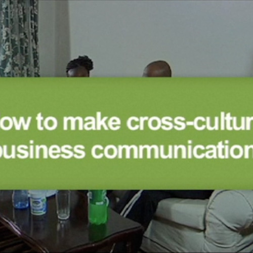 How to make cross cultural communication