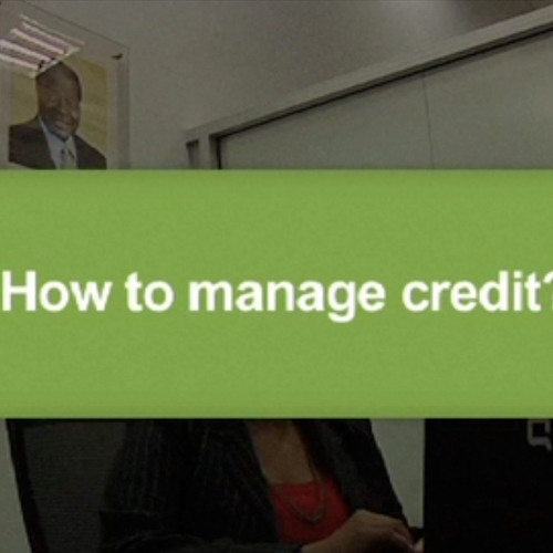 How to manage credit