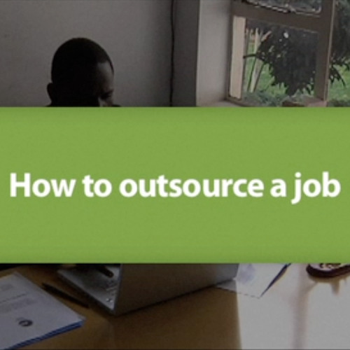 How to outsource a job