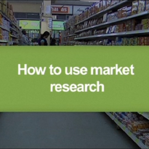 How to use market research