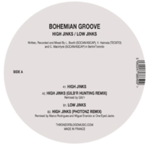 Bohemian Groove - Low Jinks (Remain Remix)