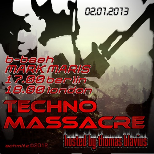 T3CHNO MASSACRE PODCAST 11 2hour b-day special by Mark Maris