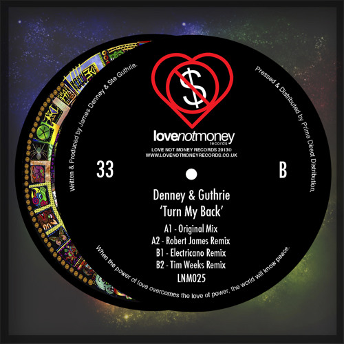 Denney & Guthrie - Turn My Back (Electricano Remix) (clip) 12''