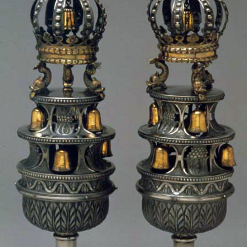 Torah Finials [67.224]: with seven bells (United States, n.d.)