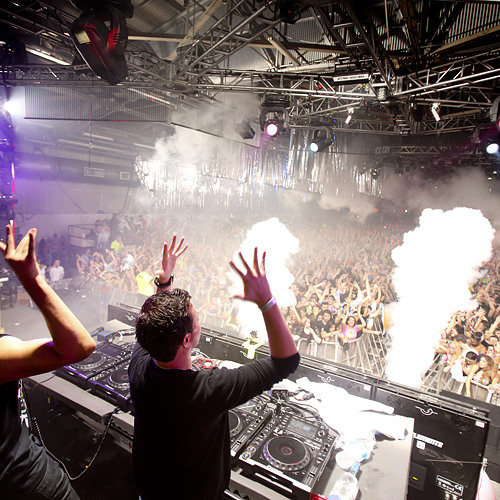 Quintino b2b Afrojack - Live @ Pier 94 (New York City) - 31.12.2012