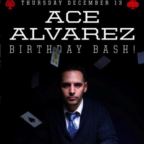 Ace Alvarez::Live From Cielo NYC December 2012