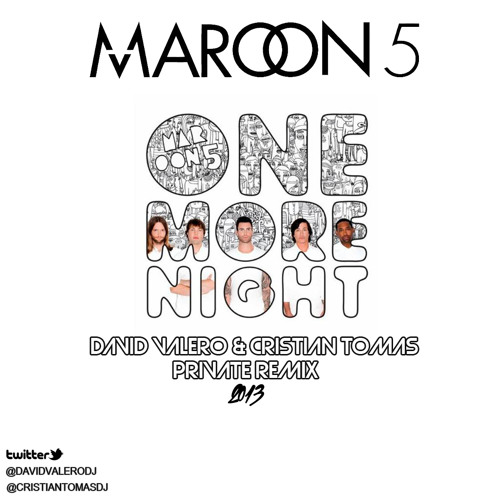 Maroon 5 - One More Night ( David Valero & CristianTomas Private 2k13 Remix)EDITSOUND