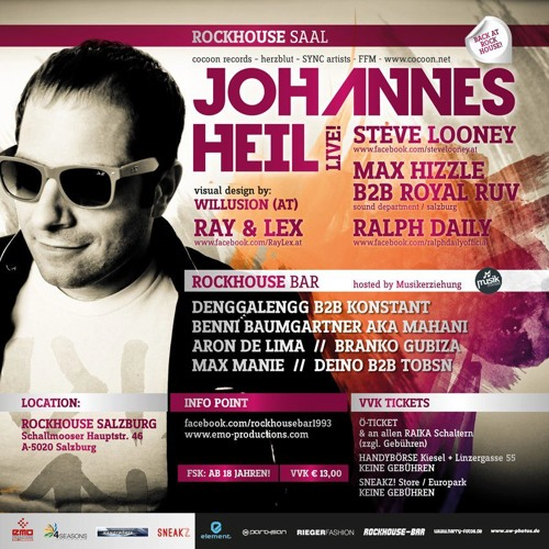 Max Hizzle & Royal Ruv Rockhouse 31.12.12 with Johannes Heil