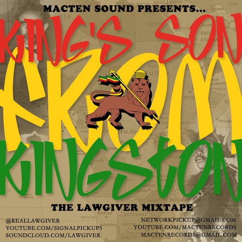 'King's Son From Kingston' Mixtape