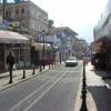 Israel, Tsfat - Car blasting Akon Na Na Na and walking down hill