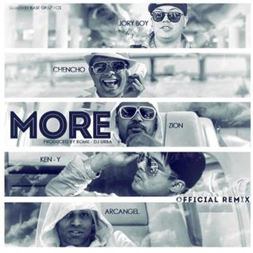 94 - ZION & LENNOX FT JORY Y KEN - MORE ( DJ ZAULITO - 2013 )