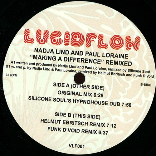 Nadja Lind & Paul Loraine - Making A Difference (Silicone Soul's Hypnohouse Dub) (Lucidflow) (Clip)