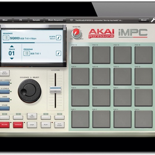 We Move with AKAI iMPC